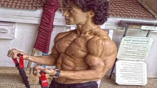 Tiger Shroff Body Building For New Movie!
