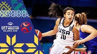 LIVE 🔴- USA v Italy - FIBA U17 Women's Basketball World Cup 2018