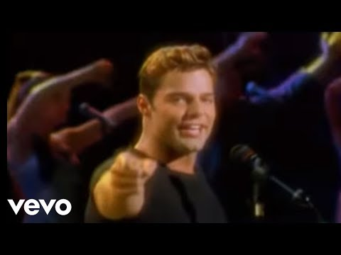 Ricky Martin - La Copa de la Vida (Spanish Video Remastered)