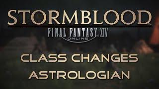 Stormblood Class Changes: Astrologian