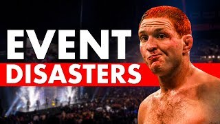 10 Most Disastrous Events in MMA History