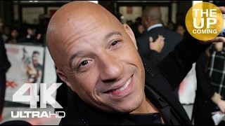 Vin Diesel at XXX: Return of Xander Cage premiere interview