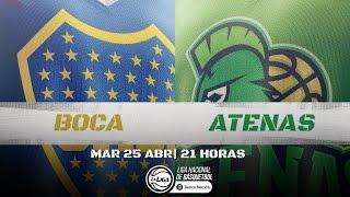 Liga Nacional: Boca vs. Atenas | #LaLigaEnTyC