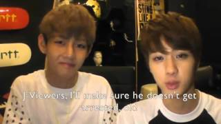 Jungkook and V's First Impressions (Vkook Fake Subs)