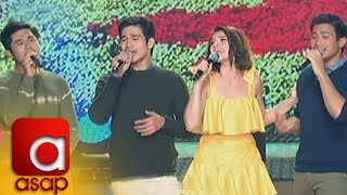 ASAP: Bea Alonzo sings 'Dahil Sa'yo' with the country's hottest heartthrobs