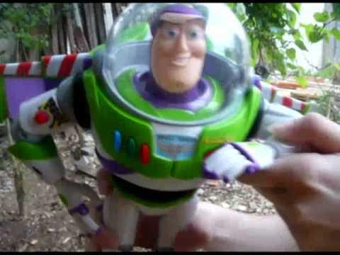 Buzz Lightyear Propaganda do filme refilmada