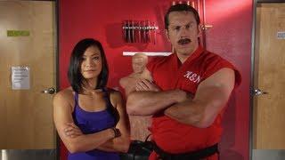 Master Ken vs. The Karate Hottie