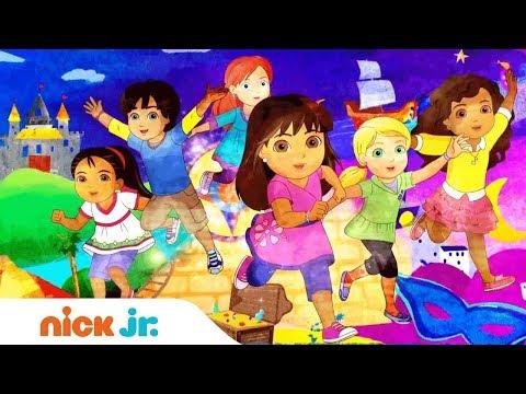 Dora & Friends I Offizielles Titelsong Musik Video 🎤 I Nick Jr.