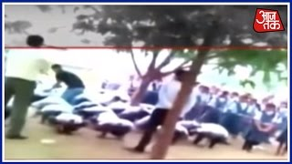 On Camera: Students Given Murga Punishment In Udaipur