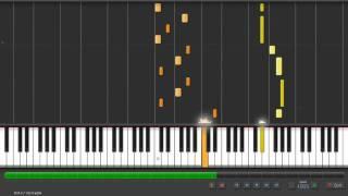 薄桜鬼 OST - 淡い恋 - transcription on piano