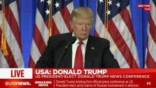 [LIVE] Donald Trump answers the American press