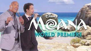 "Lin-Manuel Miranda & Dwayne ""The Rock"" Johnson Sing ""You"