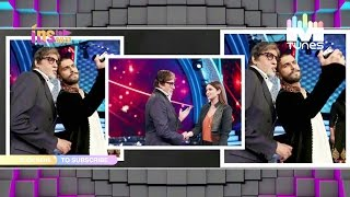 Ranveer Singh & Parineeti Chopra spotted at Amitabh Bachchan