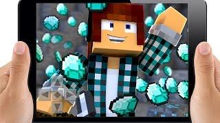 Minecraft Pocket Edition : DIAMANTES !! (Minecraft Pe)