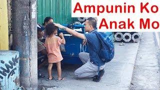 Pinoy SOCIAL EXPERIMENT: Ampunin Ko Anak Mo (Homeless)