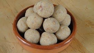 Instant Coconut Laddoo   Sanjeev Kapoor Khazana