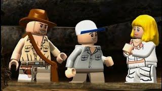 LEGO Indiana Jones Y El Templo Maldito Pelicula Completa Español - 720p - Game Movie