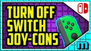 How To Turn Off Nintendo Switch Joycons 2019 (EASY) - How To Turn Off Joycon Switch