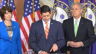 Speaker Ryan on Big Bonuses to IL 16