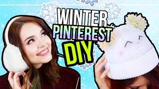 5 WINTER DIYs - Pinterest Inspired ❤ EOS, Handyhülle, Mütze, Deko & mehr! ❄️