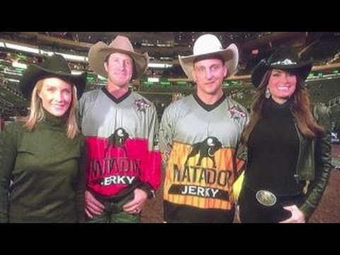 The Five meet PBR stars at Madison Square Garden