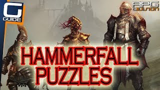 DIVINITY ORIGINAL SIN 2 - Path of Blood, Pipe Puzzle & Lever Puzzle (Hammerfall Quest)