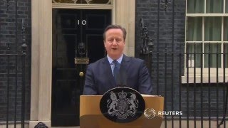 David Cameron's speech about Brexit
