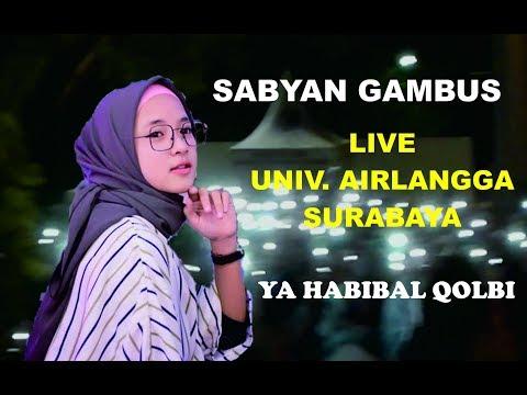 Kejadian Heboh !! Saat konser Nissa Sabyan Univ. Airlangga Surabaya... Ya Habibal Qolbi