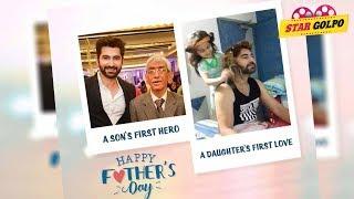 জিতের মন ছুঁয়ে দেয়ার মতন ছবি | Benagli Actors jeet Fathers Day wishes picture