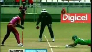 Bangladesh vs West Indies 2009 1st ODI Highlights part 1