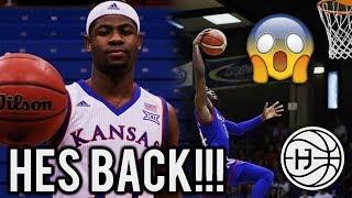Malik Newman is BACK!! NBA READY PG! KANSAS SUMMER MIXTAPE!