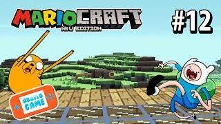 Mariocraft Cap 12 con Finn y Jake de Adventure Time Abrelo Game Minecraft