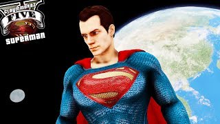 Space Mod with Superman! Space Travel (GTA 5 Space Mod Gameplay)