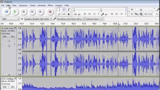 Audacity Basics: Recording, Editing, Mixing
