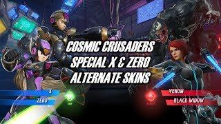 Mega Man X Zero - Special Costume | Cosmic Crusaders Skins Showcase | Marvel vs Capcom