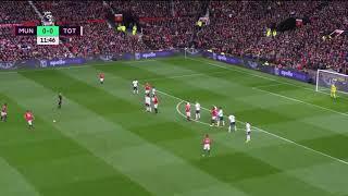 Manchester United 1 - 0 Tottenham Gols 28/10/17