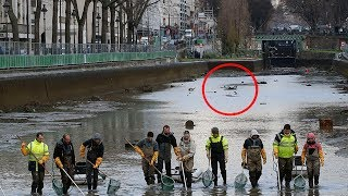 They Drained This Canal After 15 Years,  Only to Discover Something Truly Bizarre