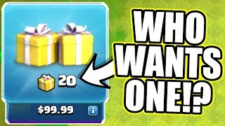 WHATS HIDDEN IN THE CLAN CHAT?! - Clash Of Clans - SURPRISE SURPRISE!