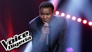 """Victor Thompson sings """"I knew You Were Trouble"""" / Blind Auditions / The Voice Nigeria Season 2"""