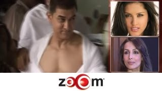 Planet Bollywood News - Aamir's new promotional gimmick, Sunny Leone wins the 'dangerous celebrity' title, & more news