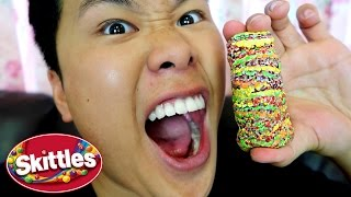100 LAYERS OF SKITTLES!!!