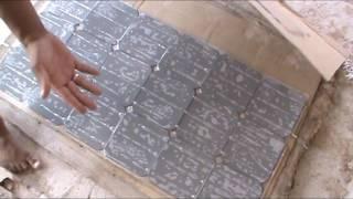 Painel solar caseiro - Montagem passo a passo #PARTE 3/4 Homemade Solar Panel -Mount step by step #3