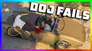 GTA 5 DOJ - A Failed Episode
