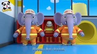 Los Bomberos Elefantes   Canciones Infantiles   Canciones de Bomberps   BabyBus Español
