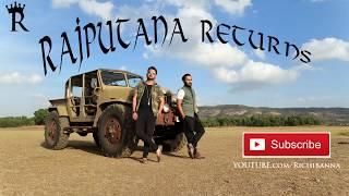 Jai jai rajputana return by richi banna new official song indian Singer hero