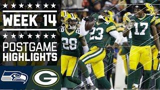 Seahawks vs. Packers | NFL Week 14 Game Highlights
