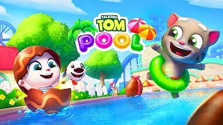 Talking Tom Pool / Cartoon Games Kids TV