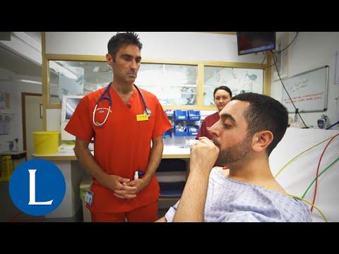 Modified Valsalva manoeuvre for supraventricular tachycardia
