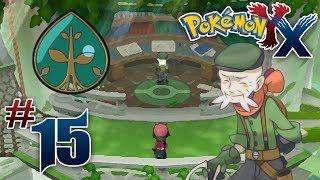 Let's Play Pokemon: X - Part 15 - Coumarine Gym Leader Ramos