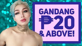 MGA MAKEUP SA ₱20 STORE! MAY IBUBUGA BA!?